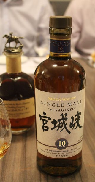 Whisky single malt miyagikyo