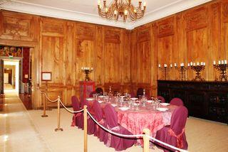 Grd salon aux boiseries (ancien réfectoire)