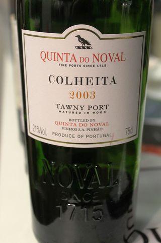 Quinta do Noval Colheita 2003 tawny