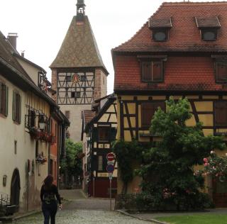 Bergheim clocher