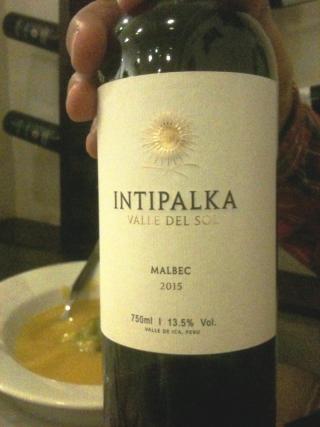 Vin Intipalka malbec 2015
