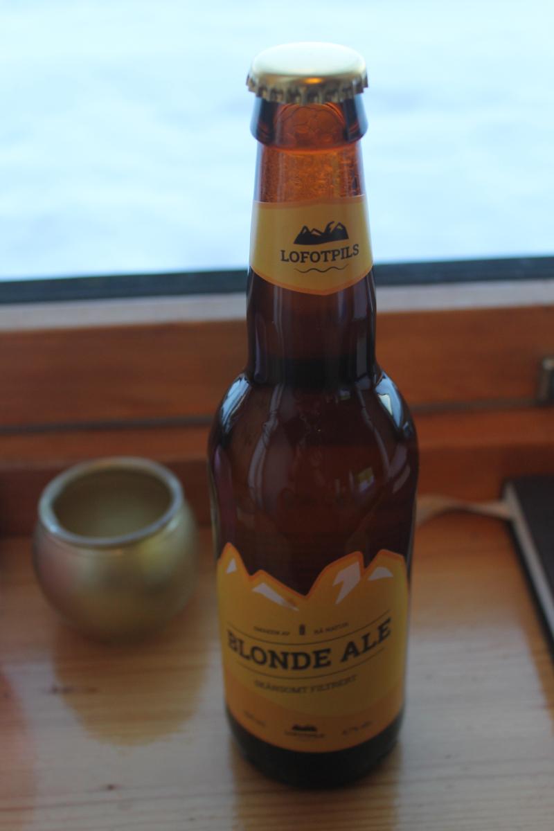 Bière Lofotpils blonde ale