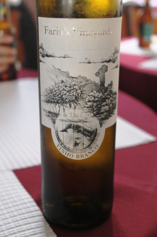 Vin blanc Faria's Vineyard - Madalena 1
