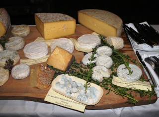 Plateau fromages chèvres