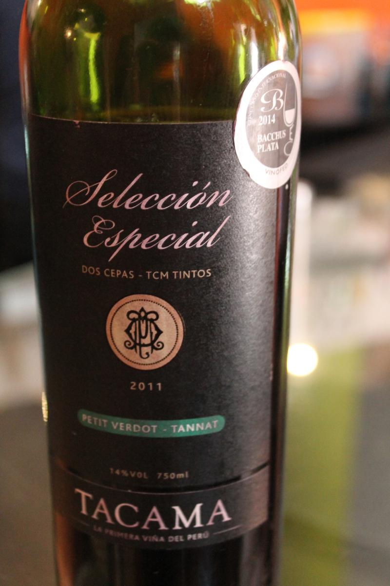 Tacama seleccion especial 2011 petit verdot tannat