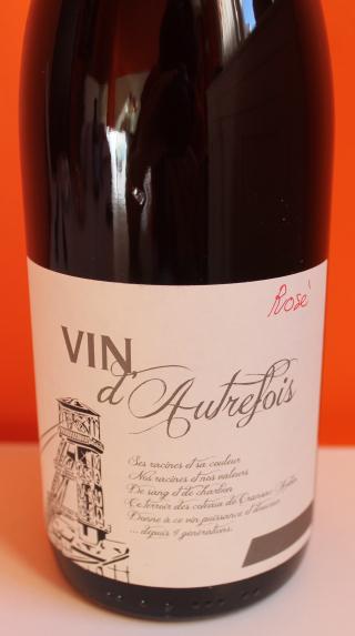 Mine de vin vin d'autrefois rosé 2014