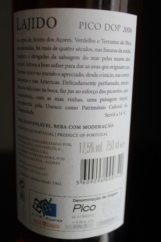 Vin de Pico - Lajido 2