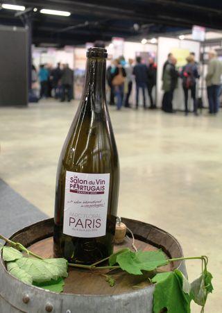 Bouteille salon vin portugais