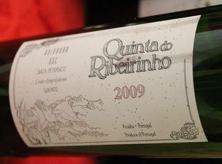Quinta do Ribeirinho Baga Pé Franco 2009
