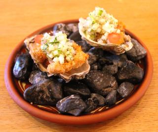 Huîtres croustillantes