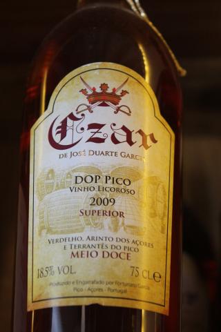 Vin liquoreux de Pico Czar